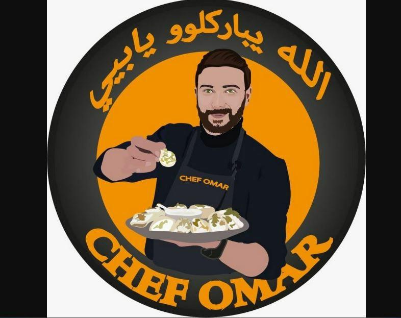 الشيف عمر شاب دمشقي استطاع ببساطته ووصفاته كسب قلوب الملايين
