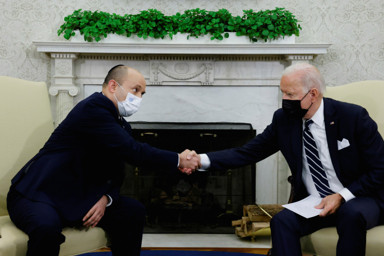 """كما سبق وكشف """"نداء بوست"""".. بايدن لـبينيت: إيران تُشكِّل تهديداً ولدينا خيارات أخرى غير الدبلوماسية"""