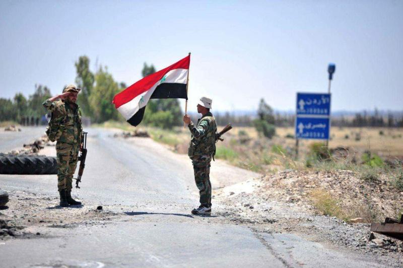 النظام السوري يسحب حواجز عسكرية في درعا