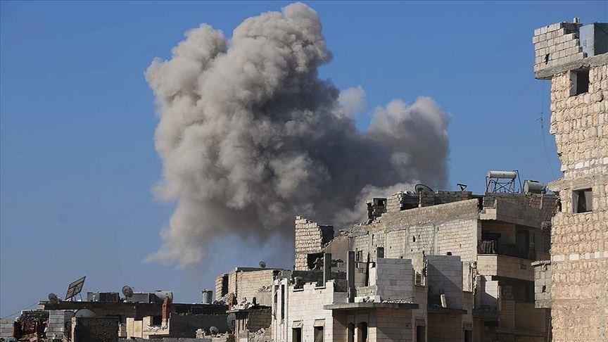 4 غارات روسية تطال منطقة دارة عزة بريف حلب