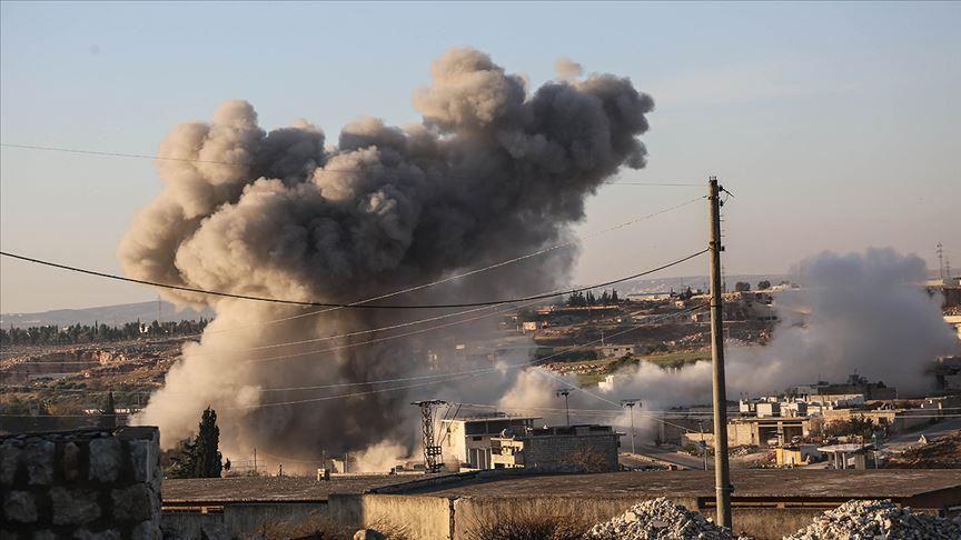 روسيا تصعّد قصفها على ريفَيْ إدلب وحلب