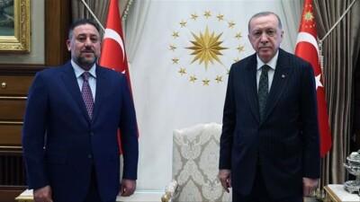 """أردوغان يلتقي برئيس """"تحالُف عزم"""" العراقي"""