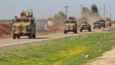 """دورية مشتركة تجمع القوات التركية والروسية في ريف مدينة """"عين العرب"""""""