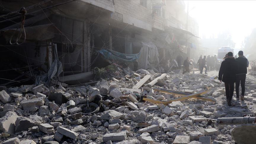الأمم المتحدة تُعرِب عن قلقها من تصاعُد القصف شمال غربي سورية