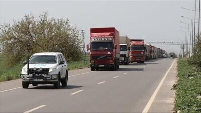الأمم المتحدة ترسل قافلة مساعدات جديدة إلى إدلب