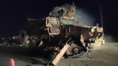 استهداف رتل تركي شمال إدلب